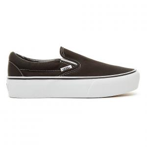 Boty Vans CLASSIC SLIP-ON PLATFORM Black