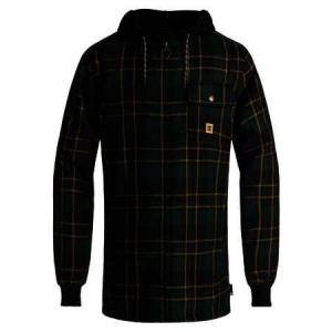 Mikina DC BACKWOODS PINE GROVE MILL PLAID