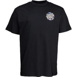 Tričko Santa Cruz Dot Splatter T-Shirt Black