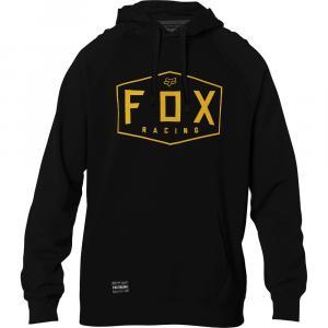 Mikina Fox Crest Pullover Fleece Black