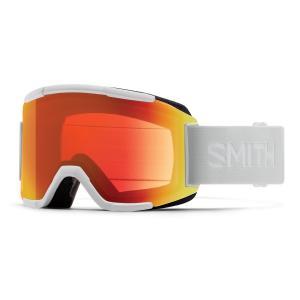 Lyžařské brýle Smith SQUAD WHITE VAPOR/CHROMAPOP EVERYDAY RED MIRROR