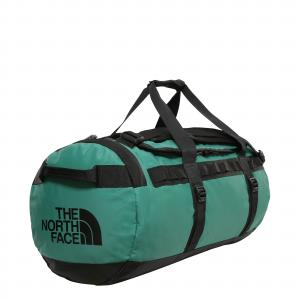 Taška The North Face BASE CAMP DUFFEL EVERGREEN/TNF BLACK