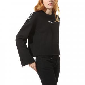 Mikina Vans BRAND STRIPER CREW Black