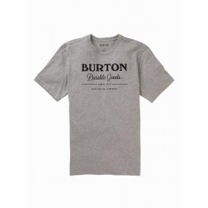 Tričko Burton DURABLE GOODS SS GRAY HEATHER