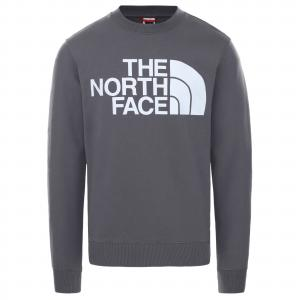 Mikina The North Face STANDARD CREW VANADIS GREY