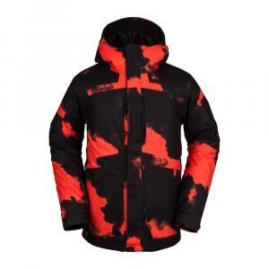 Zimní bunda Volcom Scortch Ins Jacket Magma Smoke