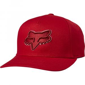 Kšiltovka Fox Youth Epicycle 110 Snapback Red/White