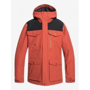 Zimní bunda Quiksilver RAFT JK BARN RED
