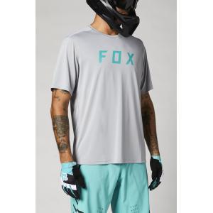Pánský cyklodres Fox Ranger Ss Jersey Fox Steel Grey