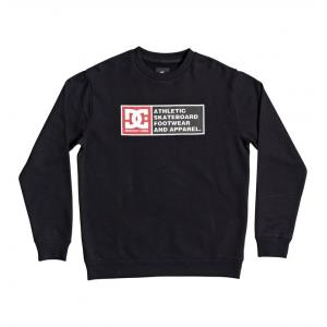 Mikina DC DENSITY ZONE CREW BLACK