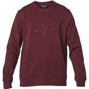 Mikina Fox Refract Dwr Crew Fleece Cranberry