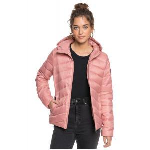Zimní bunda Roxy COAST ROAD HOODED ASH ROSE