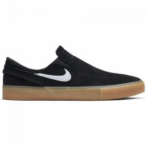 Boty Nike SB ZOOM JANOSKI SLIP RM black/white-black-gum light brown