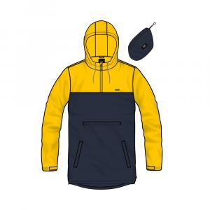 Bunda Vans REDWOOD ANORAK DRESS BLUES/LEMON CHROME