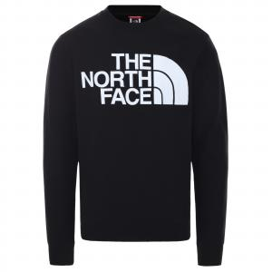 Mikina The North Face STANDARD CREW TNF BLACK