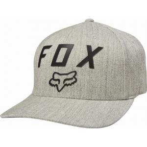 Kšiltovka Fox Number 2 Flexfit Hat Light Heather Grey