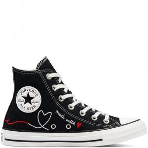 Boty Converse CHUCK TAYLOR ALL STAR BLACK/VINTAGE WHITE/EGRET