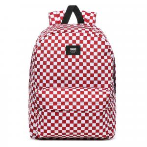 Batoh Vans OLD SKOOL III BACKPACK Chili Pepper Checkerboard