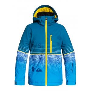 Zimní bunda Quiksilver SILVERTIP YOUTH JK LYON BLUE BENZAL YOUTH