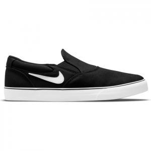 Boty Nike SB CHRON 2 SLIP black/white-black-black