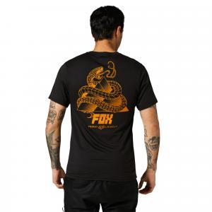 Tričko Fox Tread Lightly Ss Tech Tee Black