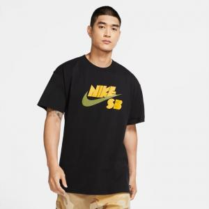 Tričko Nike SB TEE SSNL LOGO black