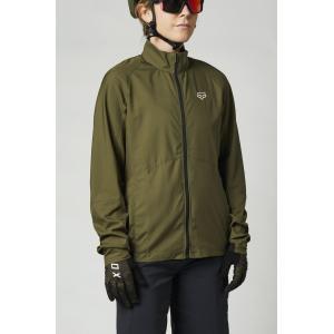 Bunda na kolo Fox W Ranger Wind Jacket Olive Green