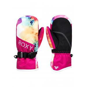 Rukavice Roxy JETTY GIRL MITT BRIGHT WHITE SUNSHINE FLOWERS