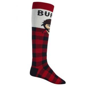 Ponožky Burton M PARTY SOCK SMU LUMBERJACK
