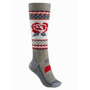 Ponožky Burton W PRFRMNC MW SK OATMEAL HEATHER