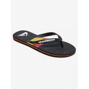 Žabky Quiksilver MOLOKAI SEASONS BLACK/RED/BLACK