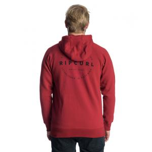 Mikina Rip Curl AUTHENTIC FLEECE  RED