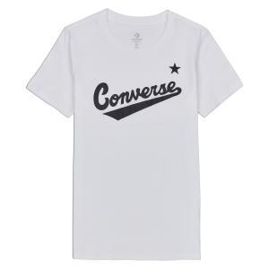 Tričko Converse CENTER FRONT LOGO TEE WHITE