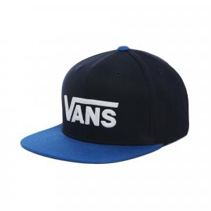 Kšiltovka Vans DROP V II SNAPBACK BOYS DRESS BLUES/VICTORIA BLUE
