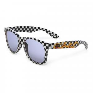 Sluneční brýle Vans SPICOLI 4 SHADES BLACK/WHITE CHECK/FLAME