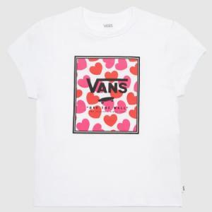 Tričko Vans BOXED HEARTS White