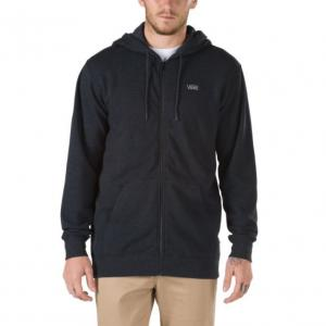 Mikina Vans BASIC ZIP HOODIE Black Heather