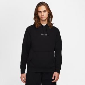 Mikina Nike SB CLASSIC GFX HOODIE black/white