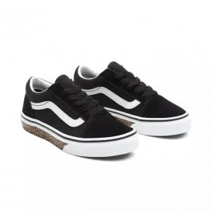 Boty Vans Old Skool ANIMAL SIDEWALL LEOPARD/BLACK