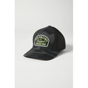 Kšiltovka Fox Youth Og Camo Flexfit Hat Black Camor