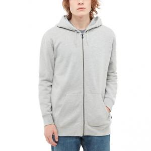 Mikina Vans BASIC ZIP HOODIE CEMENT HEATHER