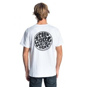 Tričko Rip Curl ORIGINAL WETTY SS TEE  Optical White