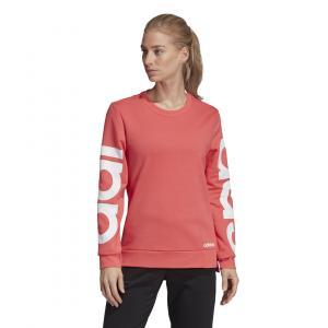 Mikina Adidas W E BRAND SWEAT PRIPNK/WHITE