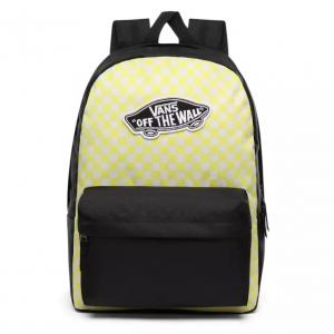Batoh Vans REALM BACKPACK Lemon Tonic Checkerboard