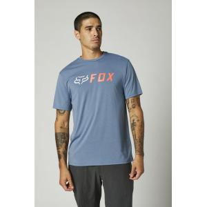 Tričko Fox Apex Ss Tech Tee Matte Blue