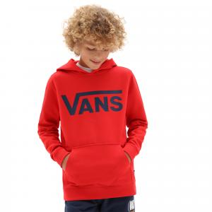Mikina Vans CLASSIC PO HOODIE FT BOYS HIGH RISK RED/DRESS BLUES