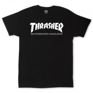 Tričko Thrasher SKATE MAG T-Shirt Black