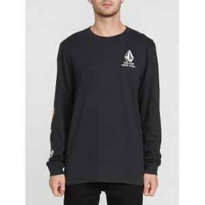 Tričko Volcom New High Score L/S Tee Black