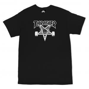 Tričko Thrasher Skategoat Black