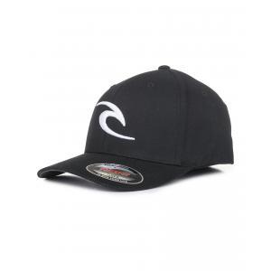 Kšiltovka Rip Curl FLECK CURVE PEAK CAP  Black
